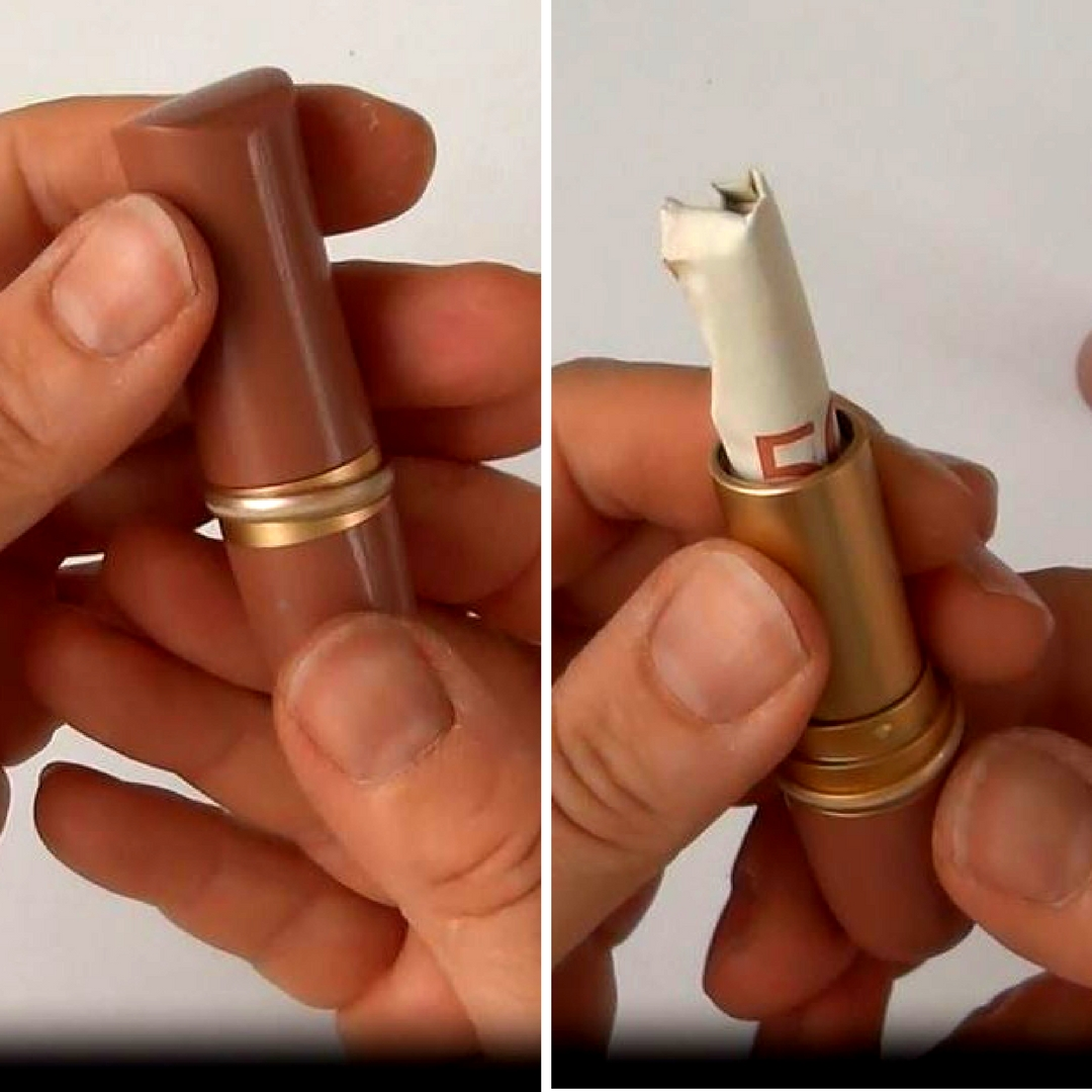 Picture of Unusual Use for a Lipstick