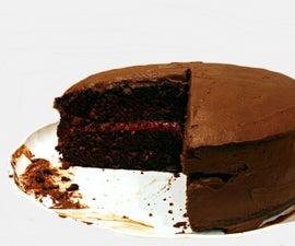 Rich Chocolate Raspberry Cake