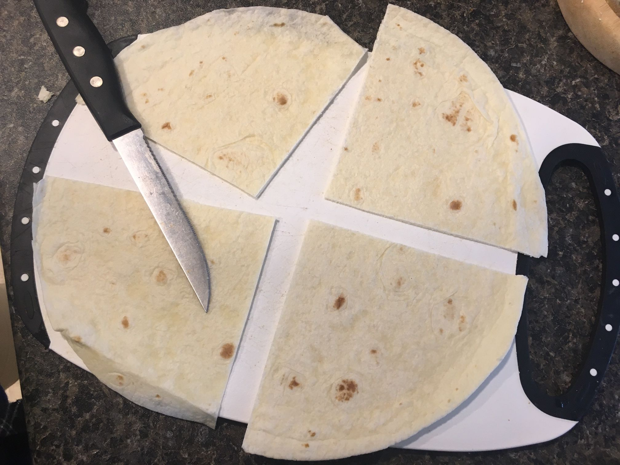Picture of Make the Tortilla Cups
