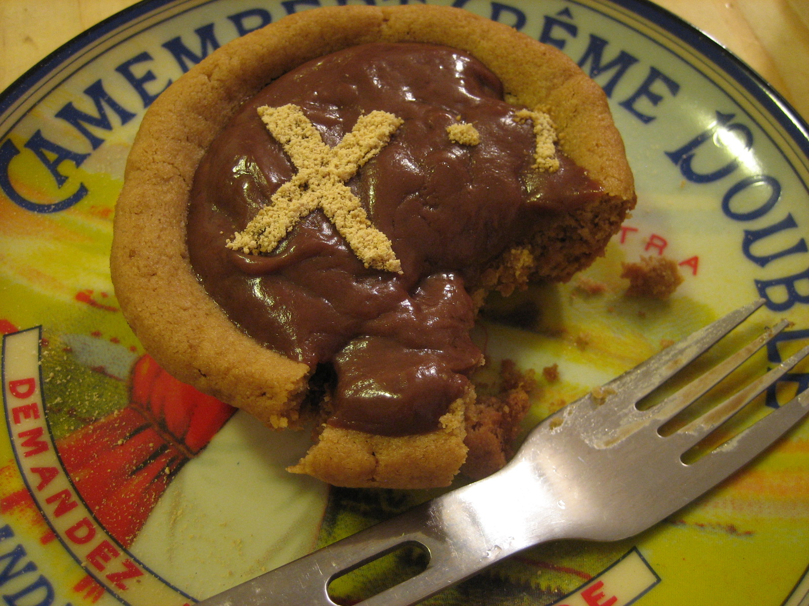 Picture of Inverse Peanut Butter Cup Pie