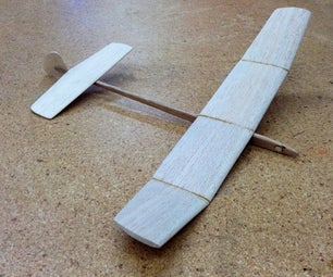 Classic 1950s Toy Glider- the Flicka