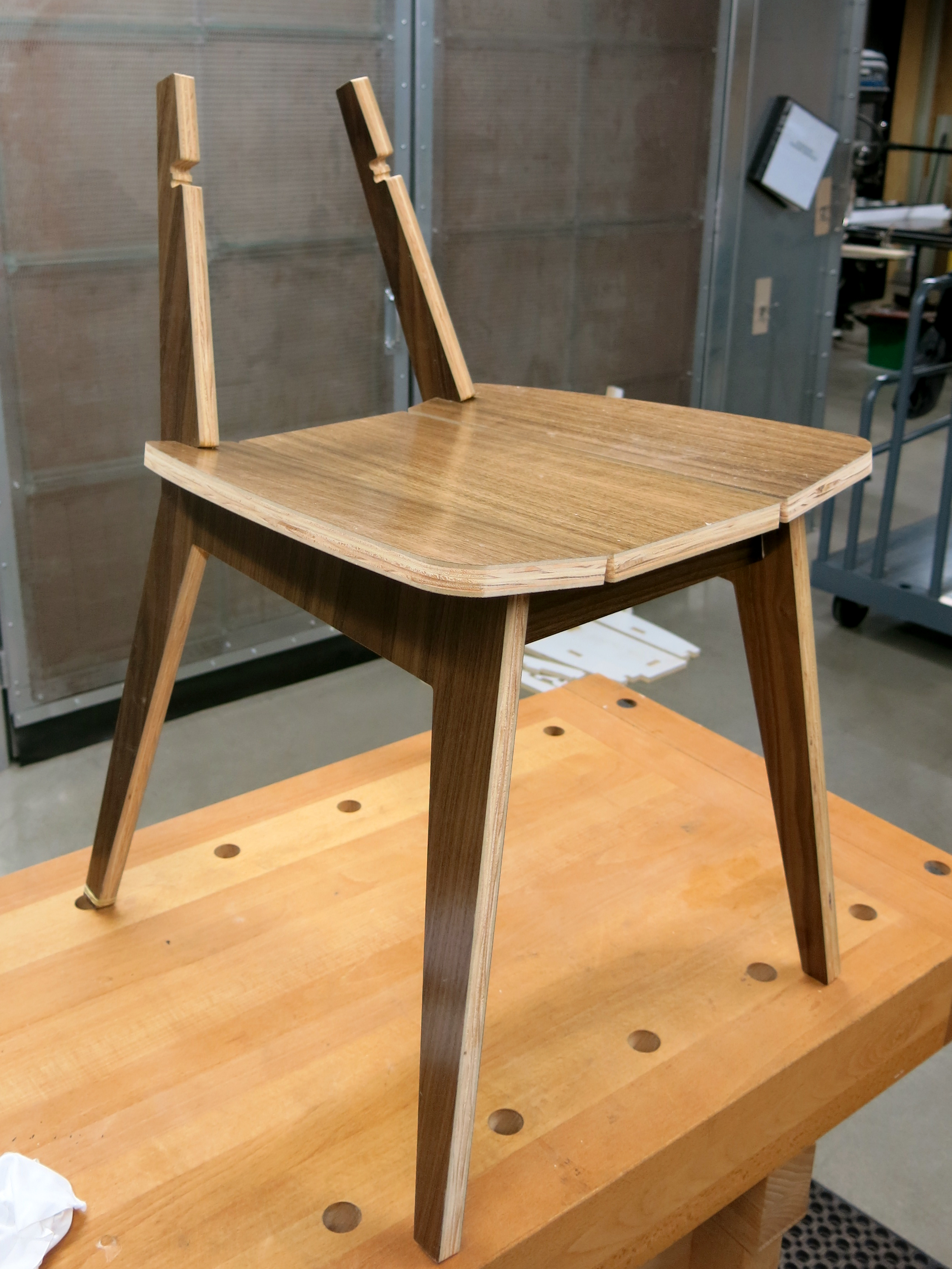 Picture of Assemble Legs to Seat