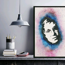 Cosmos Wall Art - a Tribute to Stephen Hawking