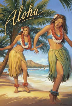 Picture of Hula Girl