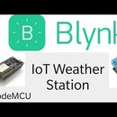IoT Weather Station Using Blynk Application