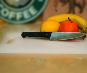 Refresh That Old Plastic Cutting Board