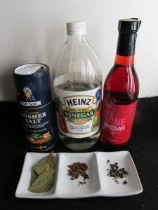 Ingredients: Vinegar & Herbs Part