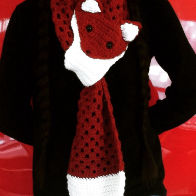 Picture of Crochet Fox Scarf