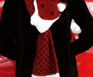 Crochet Fox Scarf