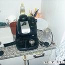 Make a pressurized portafilter for a cheap espresso machine