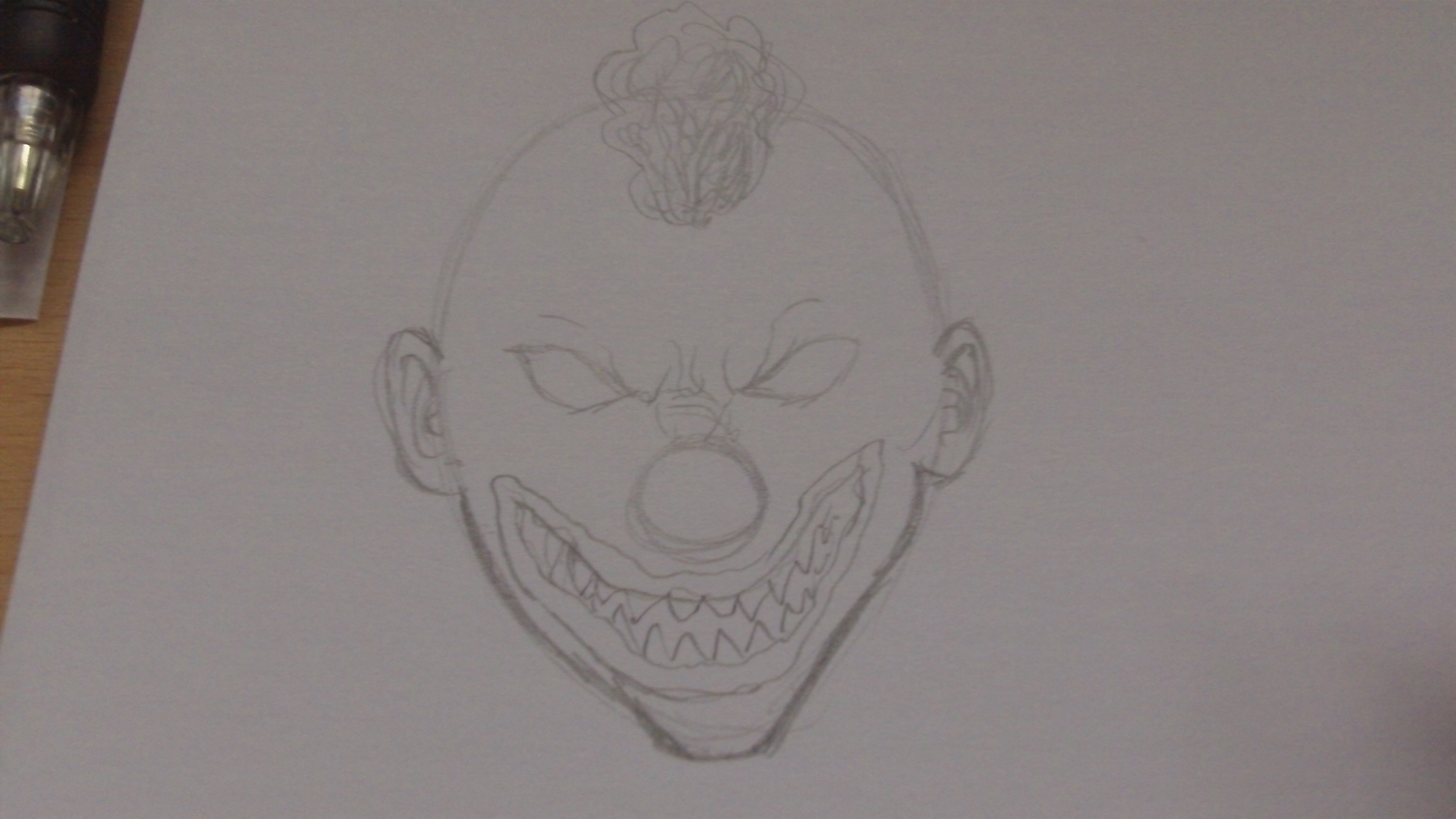 Picture of Draw Some Ears and Define the Lower Jaw