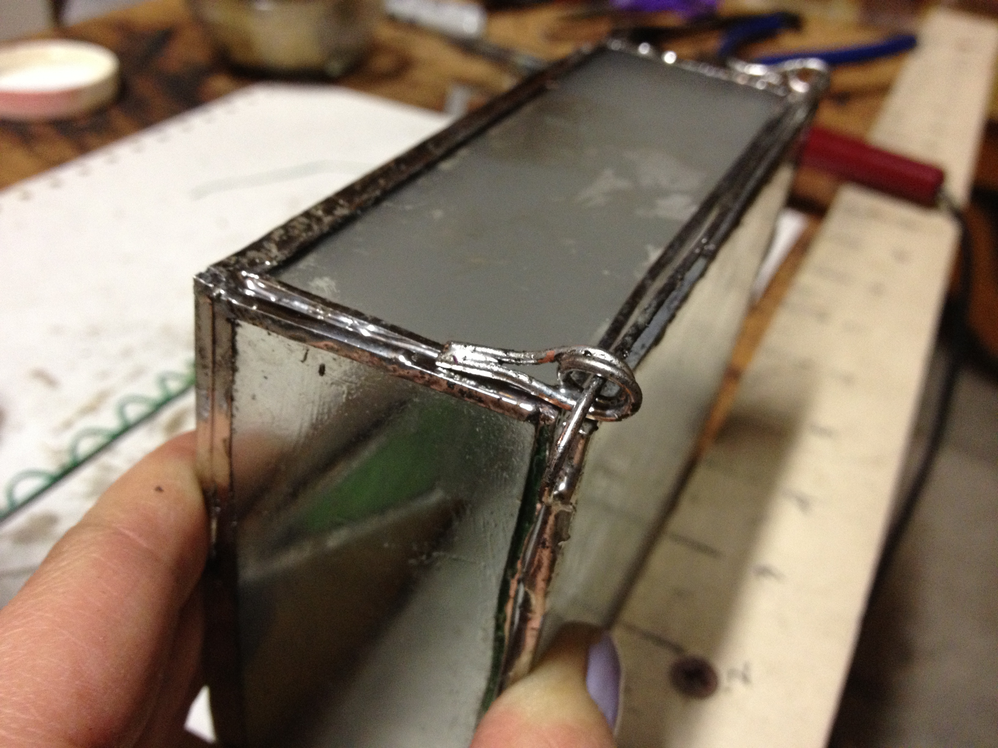 Picture of Adding the Hinge