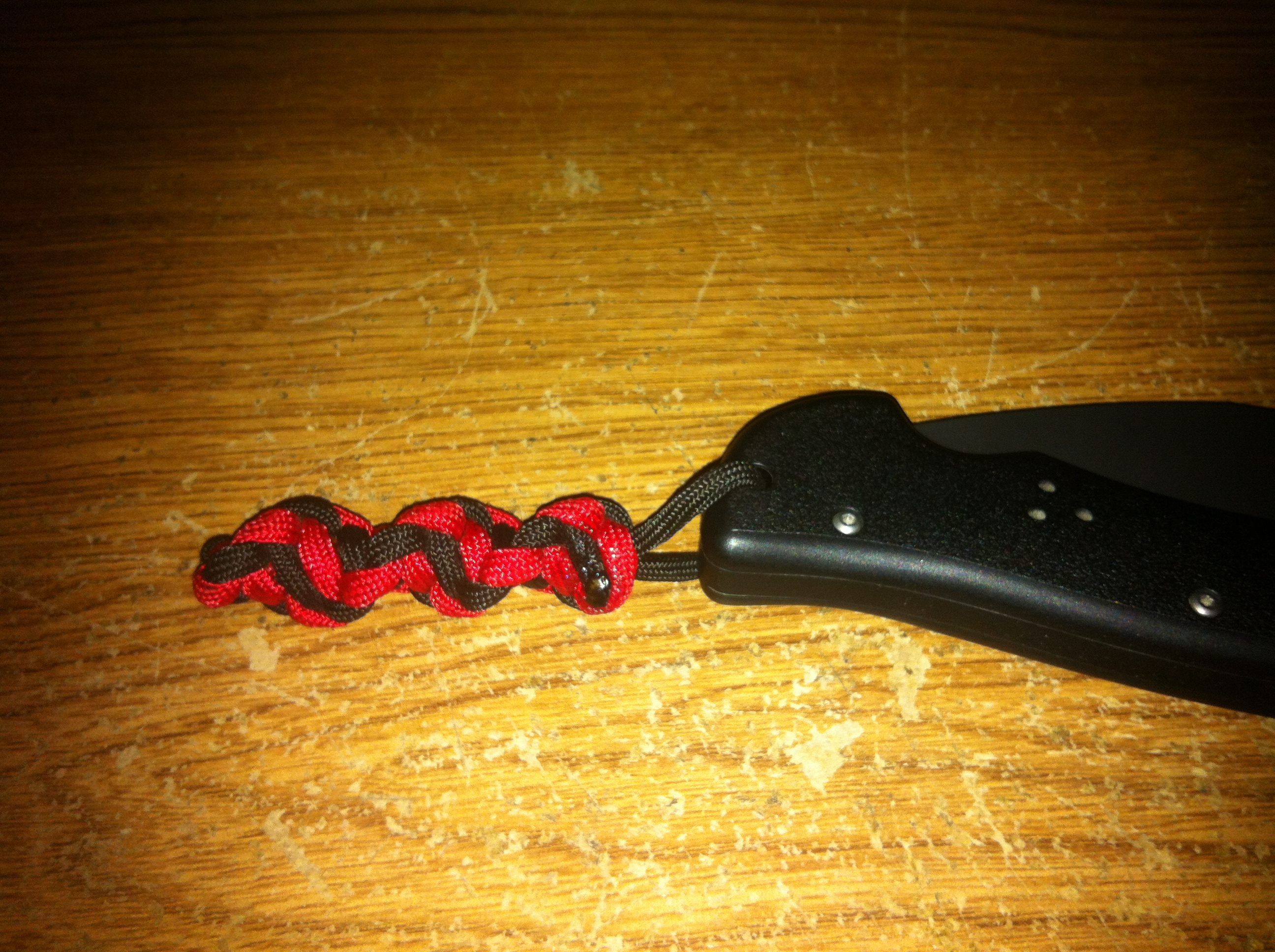 Picture of DNA Helix Paracord Key Fob