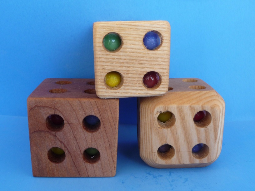 Picture of Marble Rattle Cube