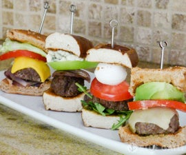 Burger Bites 5 Ways