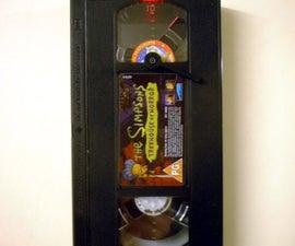 VHS Cassette Clock
