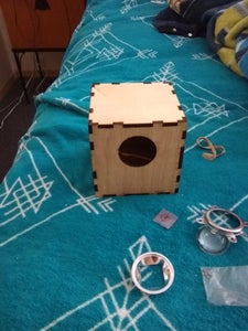 Laser Cut the Cube and Paint!