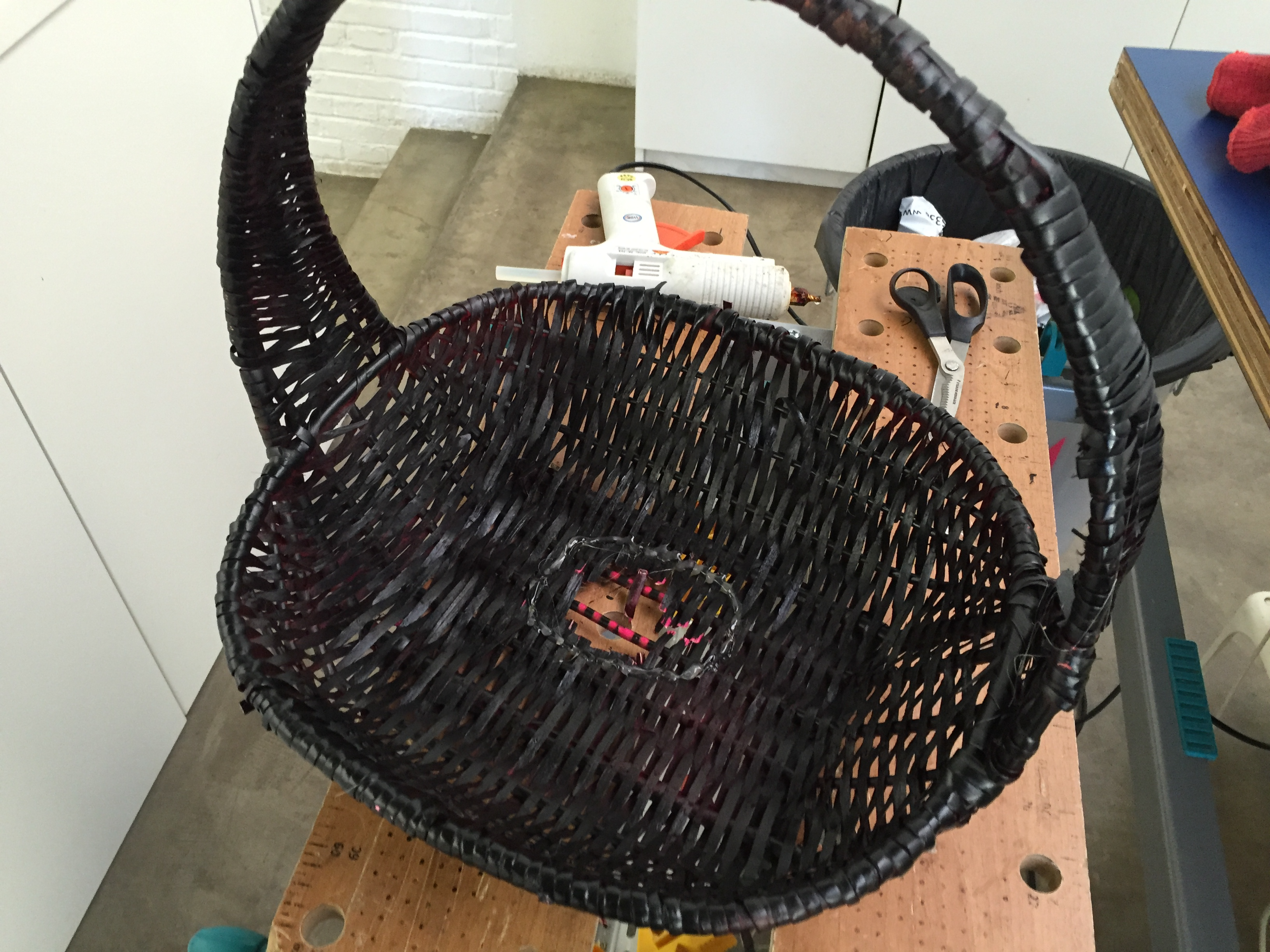 Picture of Basket and Grabbing Hand