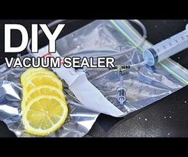 $2 vacuum sealer Life hack