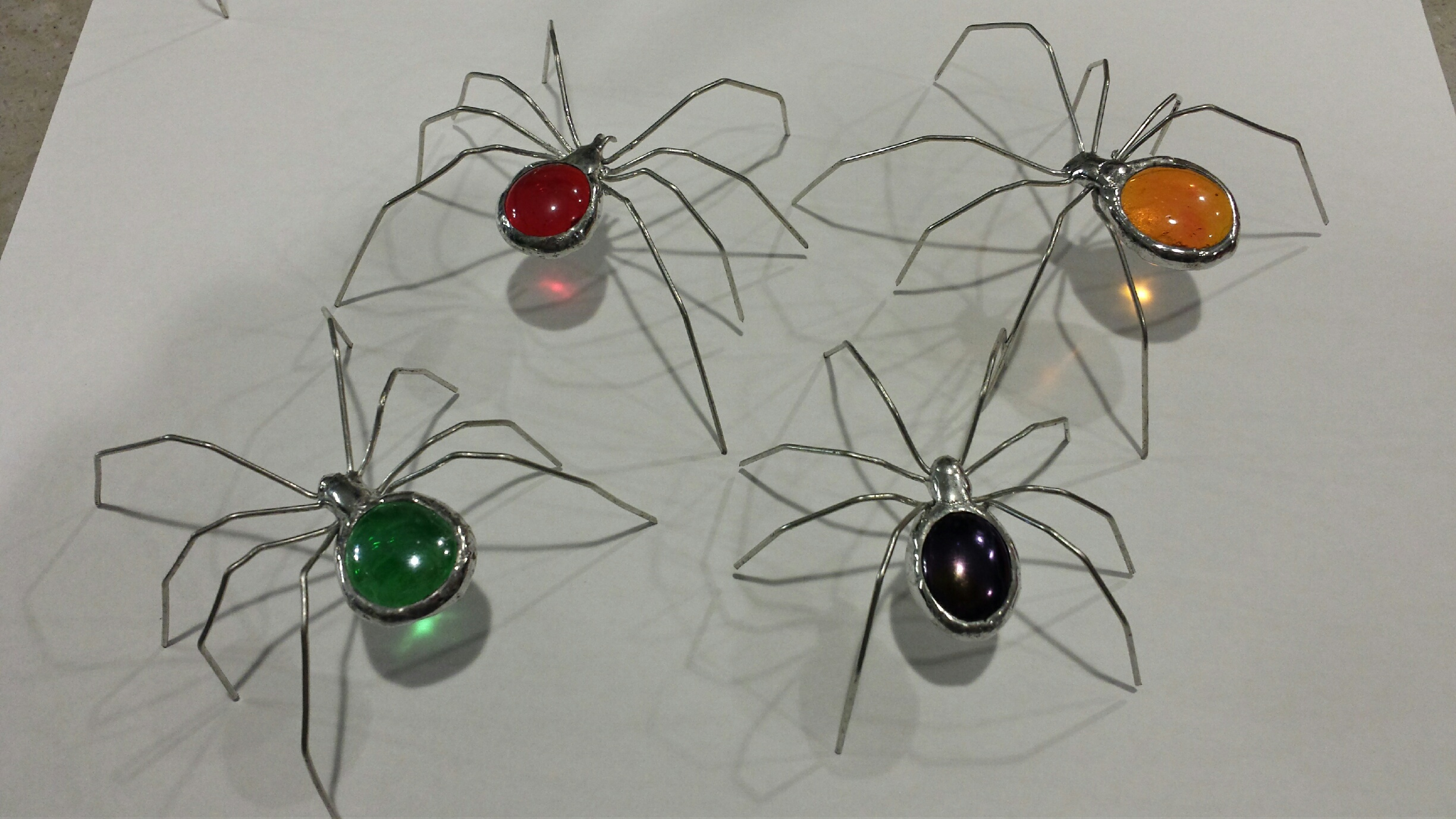 Picture of Glass Jewel Spiders