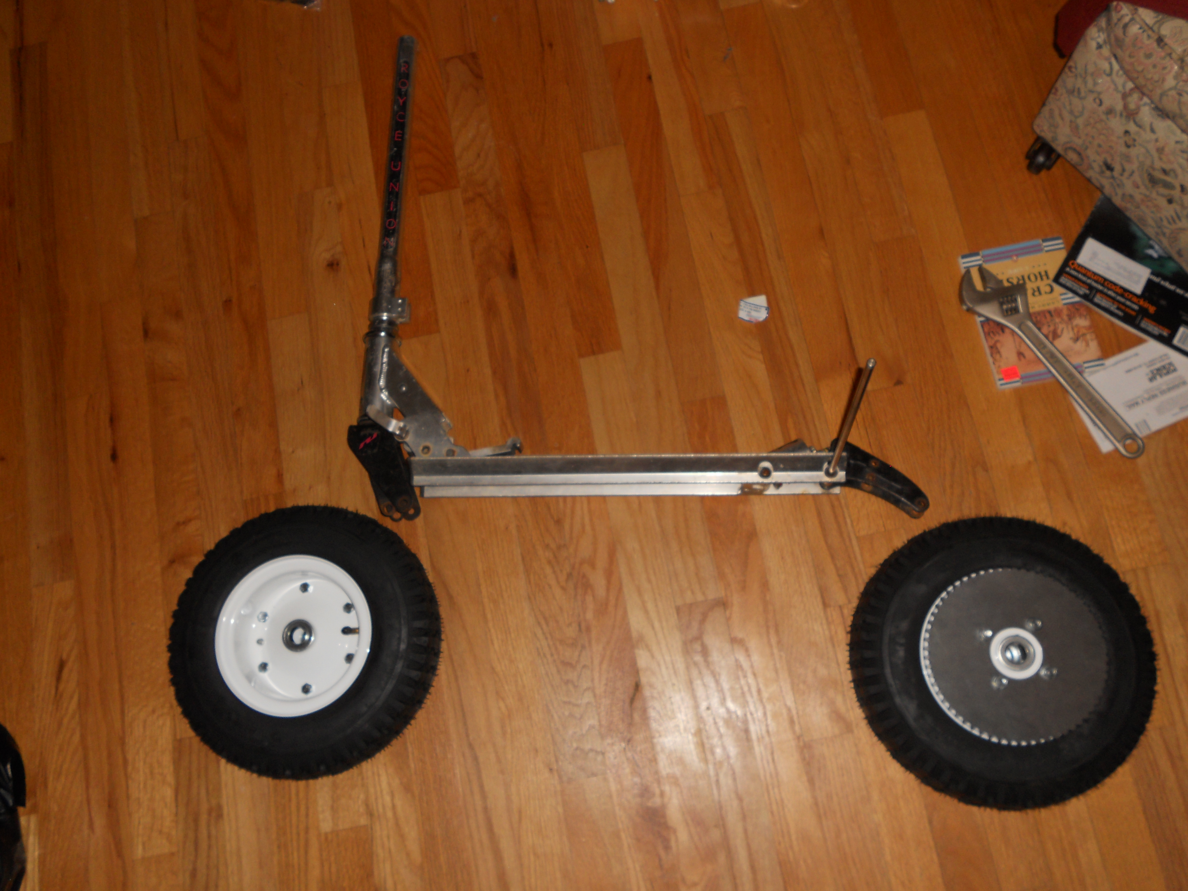 Picture of Donor Scooter Teardown and Layout
