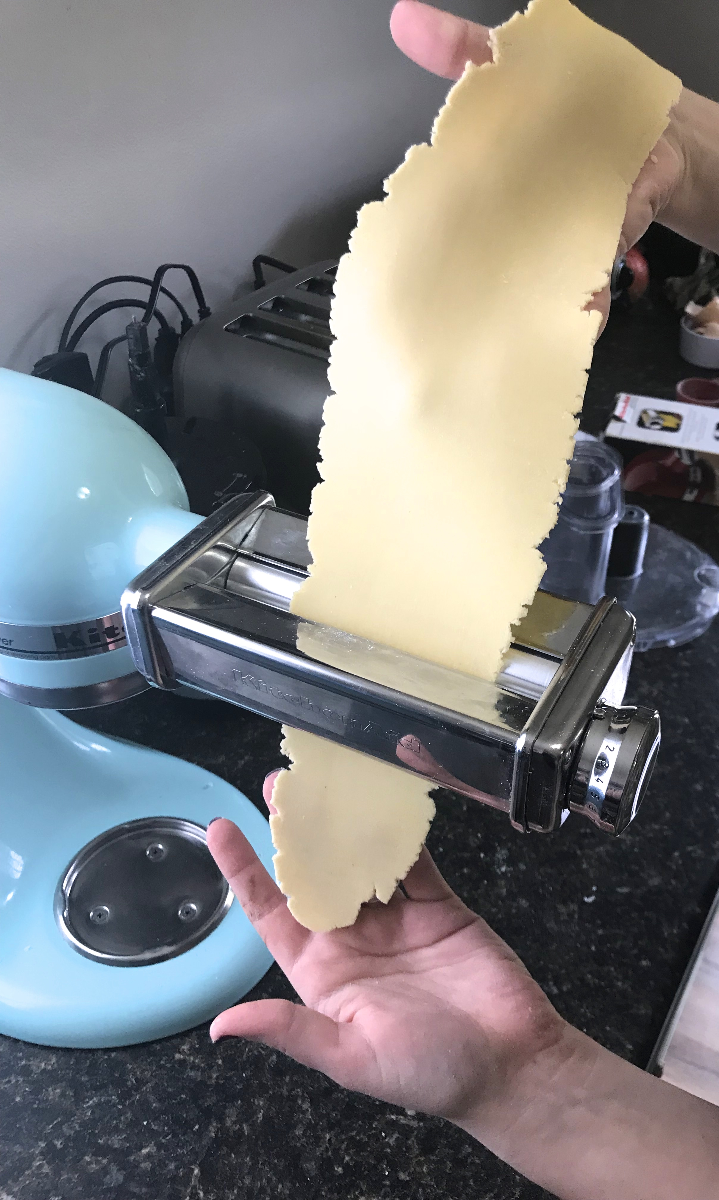 Picture of Rolling Out Pasta Sheets