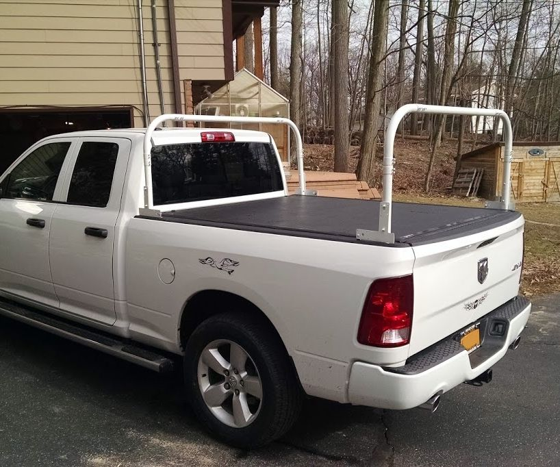 Kayak Truck Rack Works With Tonneau Cover 5 Steps With