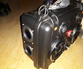 Portable speaker JBL GTO429 + JBL TWEETS + 2 DAYTON 3 1/2' WOOFERS