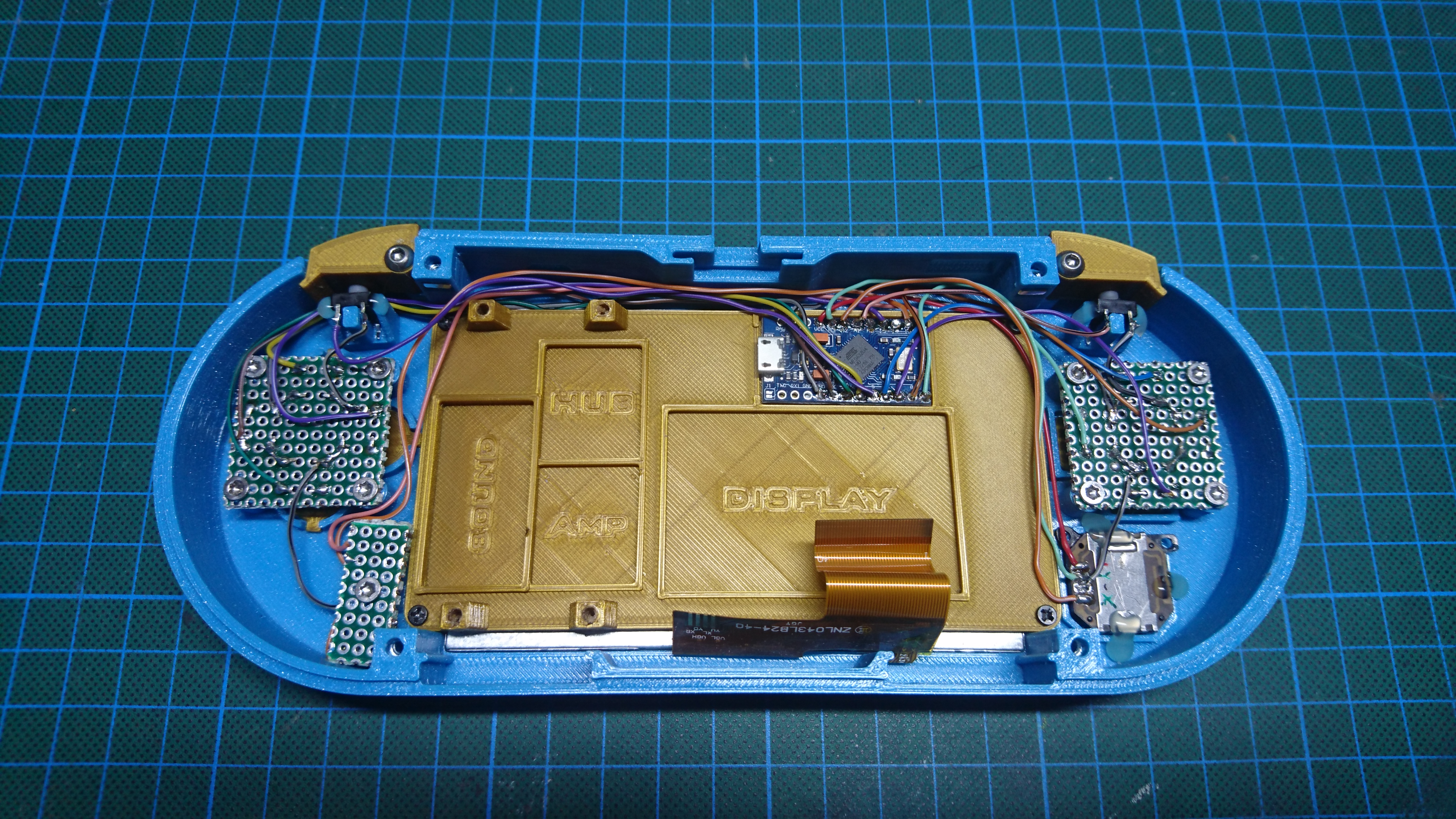 Picture of Wiring: the Arduino Micro Pro