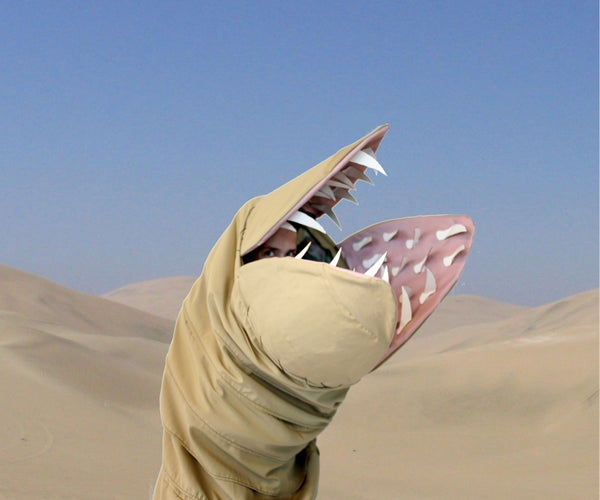 Dune Giant Sandworm Shai Hulud Costume