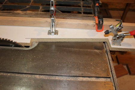 Fixture for Cutting the Corner Columns
