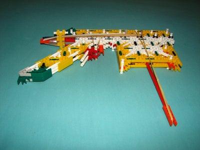 Knex 10 Shot Pistol + Mount