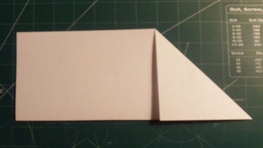 Length and Corner Folding on the Second Airframe