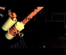 Retractable grappling Hook Launcher