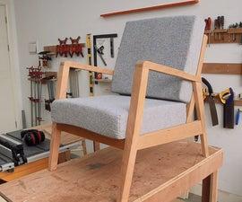 Making a Mid Century Modern Armchair