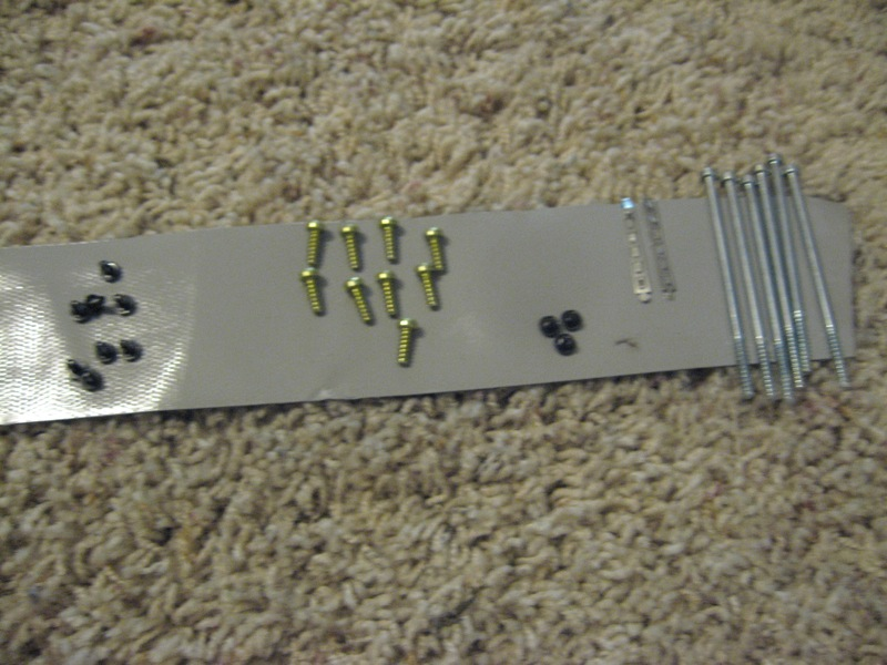 Picture of Screws/DVD Drive