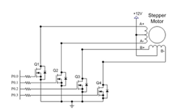 4, 5, 6, and 8-wire Stepper Motors: 9 Steps Unipolar Wire Stepper Motor Wiring Diagram on