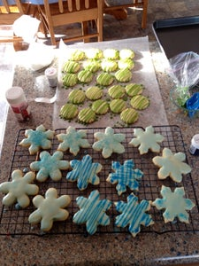 Glazing the Cookies
