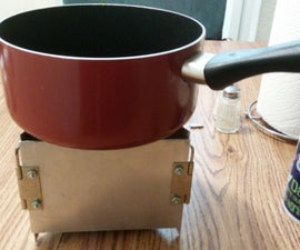 Collapsible Camping/emergency Stove.