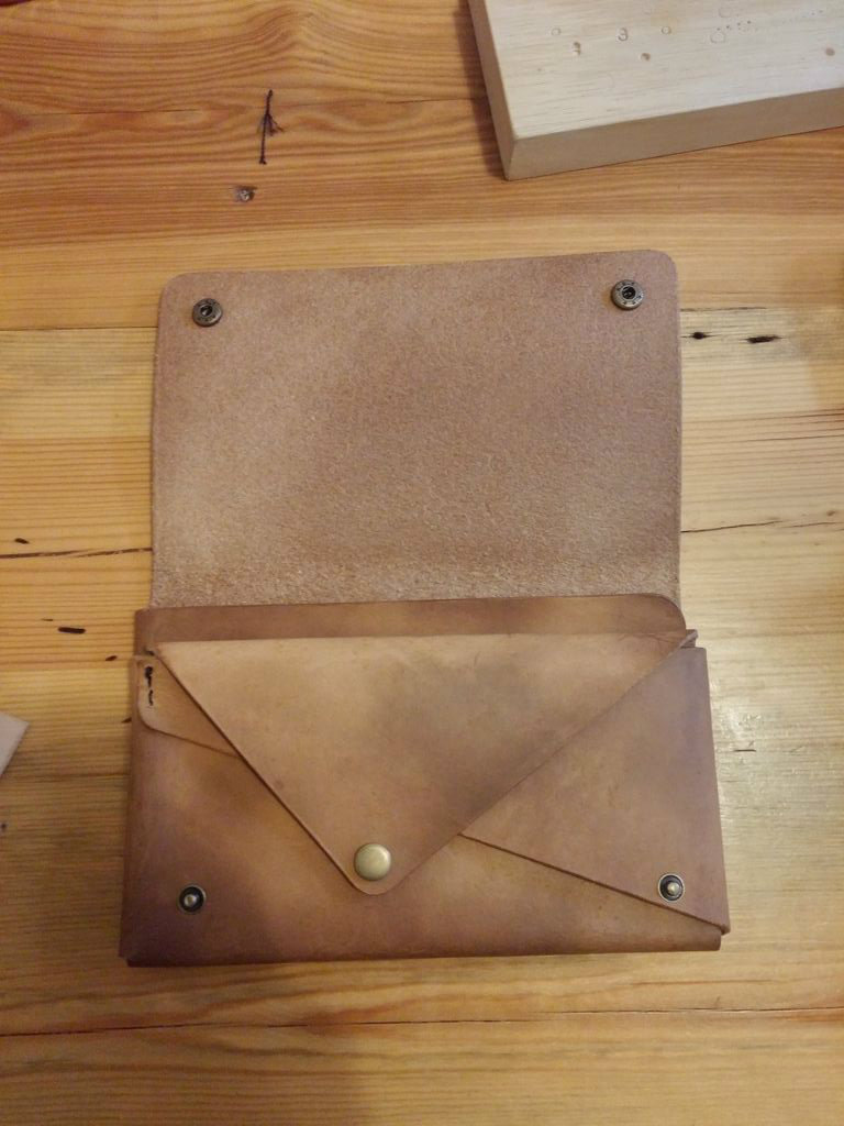 Picture of Leather Clutch Bag