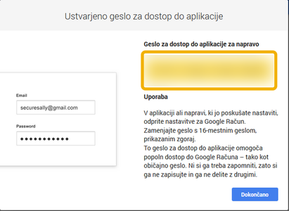 Setting Up GMAIL Account