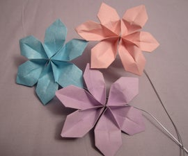 Super Easy Paper Flowers for $2!