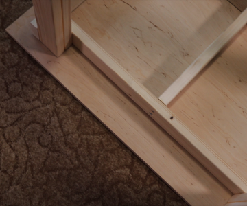 Cutting Top and Bottom for the Workbench