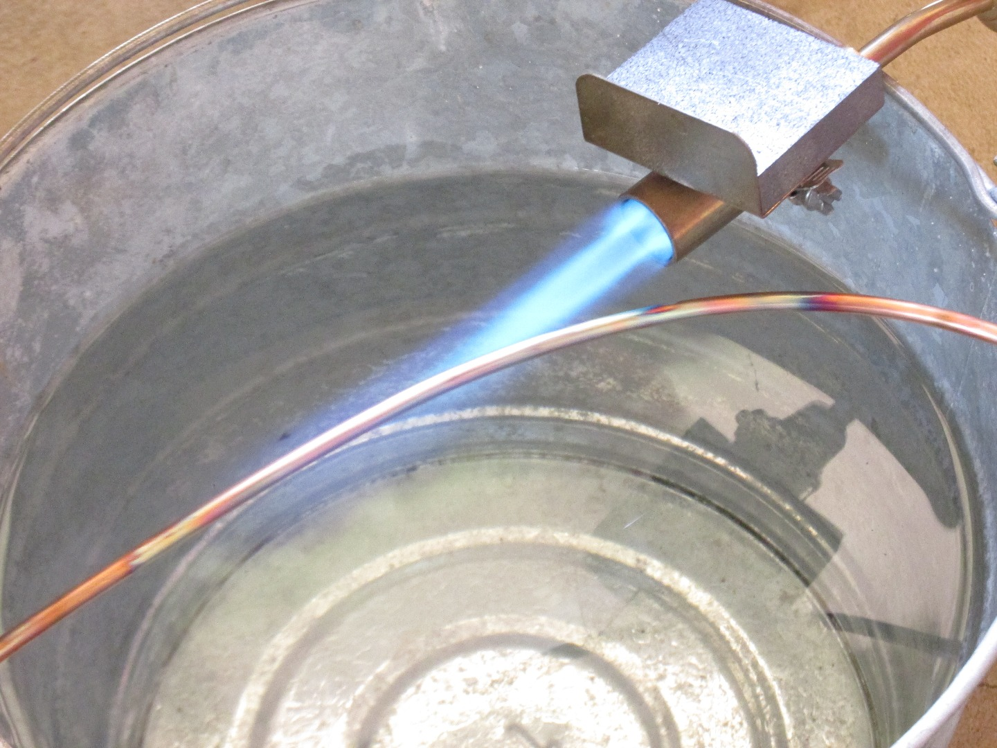 Picture of Preparing the Wire - Annealing