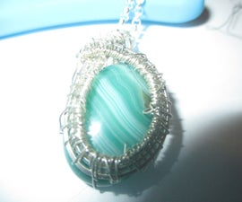 How to Wire Wrap a Sun Pendant