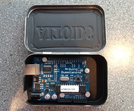Electrically Insulated Altoids Tin