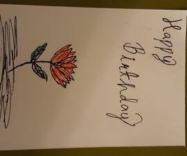 Making a Flower Card