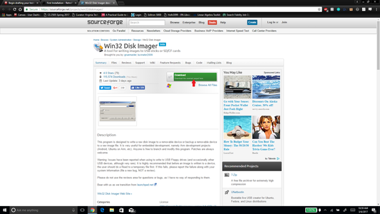 Installing Win32 Disk Imager