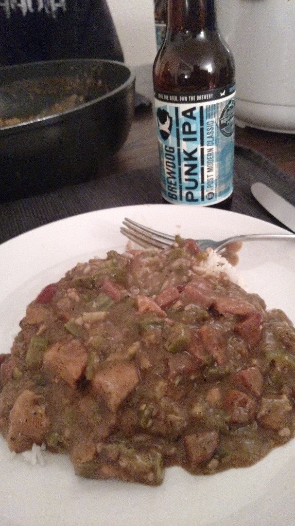 Picture of Chicken and Sausage Gumbo