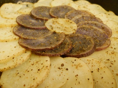Purple Potato Galette